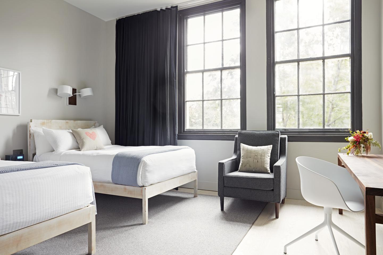 Quirk Hotel Richmond Virginia Double Room