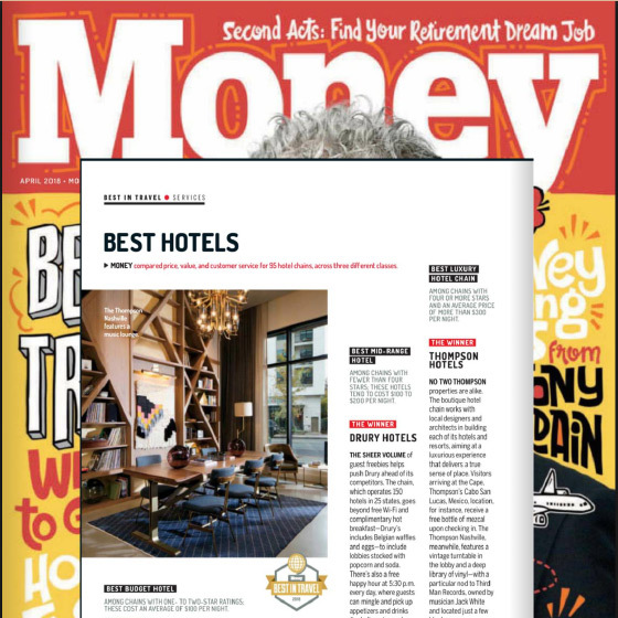 Money Magazine Press Clip on Thompson Hotels