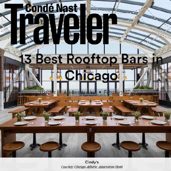 Condé Nast Traveler: 25 Best Hotels in Chicago