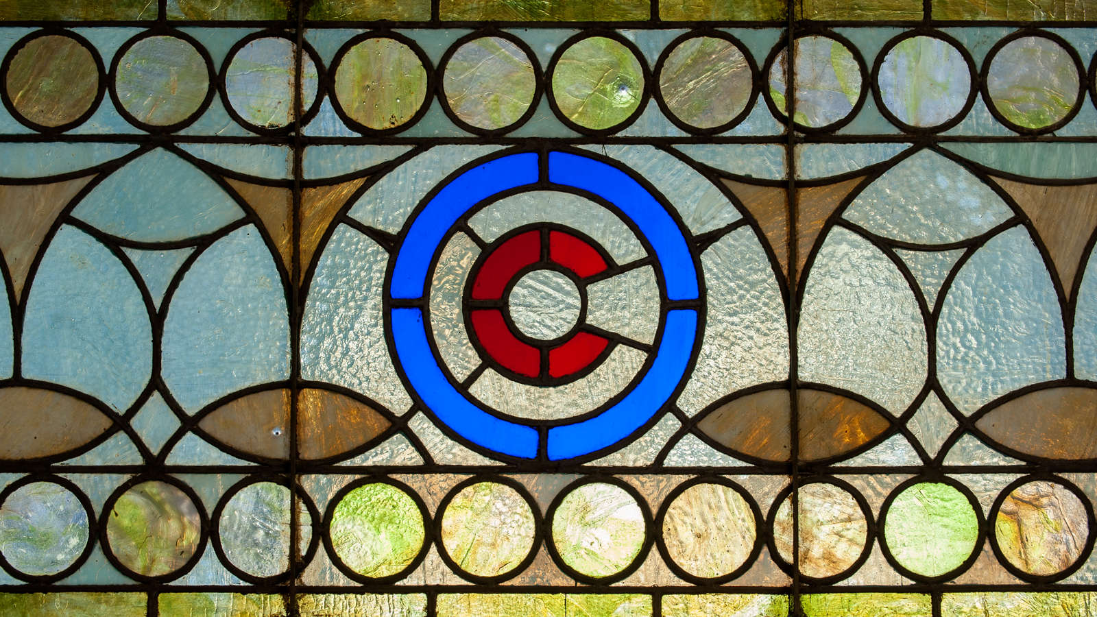 Chicago Athletic Association Glass Detail 03