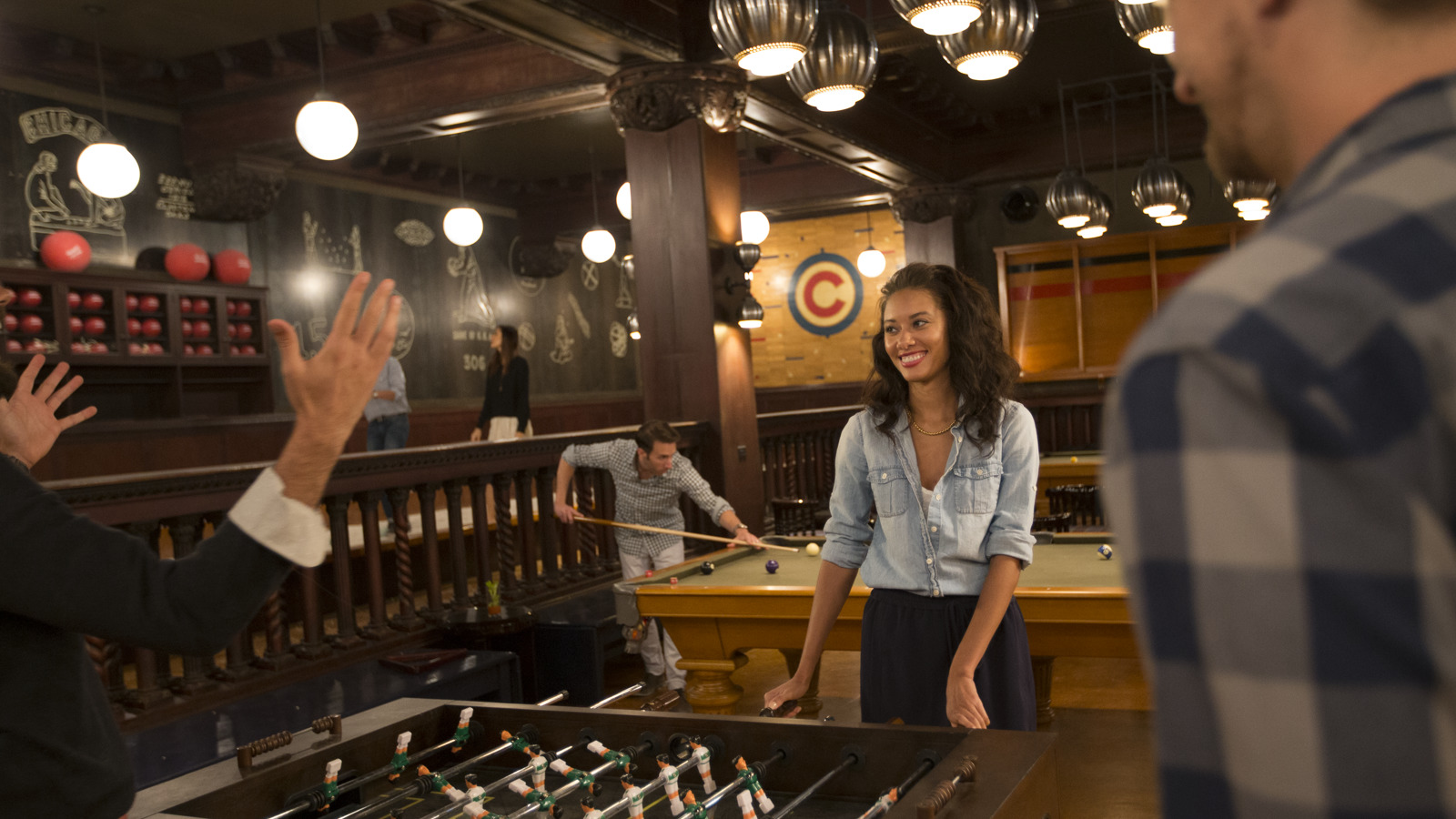 Chicago Athletic Association_Lifestyle_Game Room_Foosball_5_Thomas Shelby