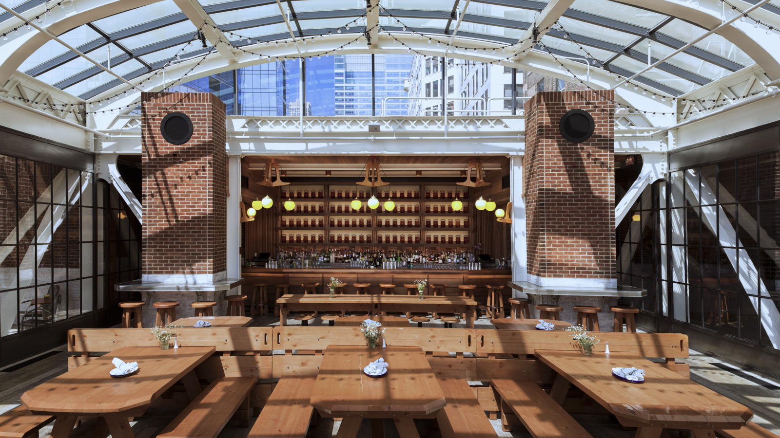 Rooftop Event Venue Downtown Chicago Chicago Athletic