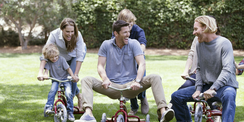 Carmel Valley Ranch_Lifestyle_Play_family playing on tricycles