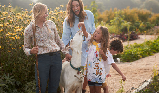 Carmel Valley Ranch_Lifestyle_Play_Organic Garden_Goat_family fun_0305_GJ