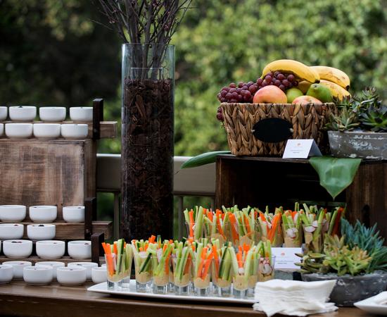 Carmel Valley Ranch_Meetings_coffee break setup