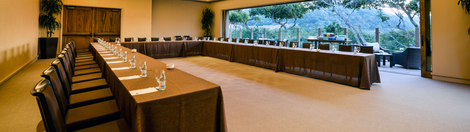 Carmel Valley Ranch_Meetings_Vintner Room U-shape open face