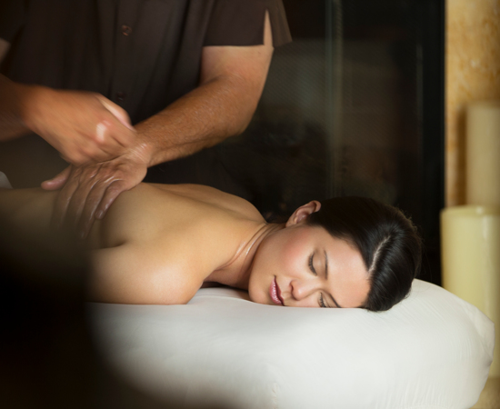 Carmel Valley Ranch_Spa_female massage treatment