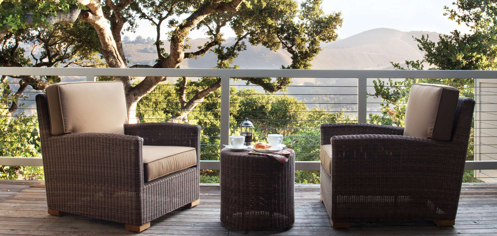 Carmel Valley Ranch_Accommodations_Hilltop Ranch Suite_Balcony