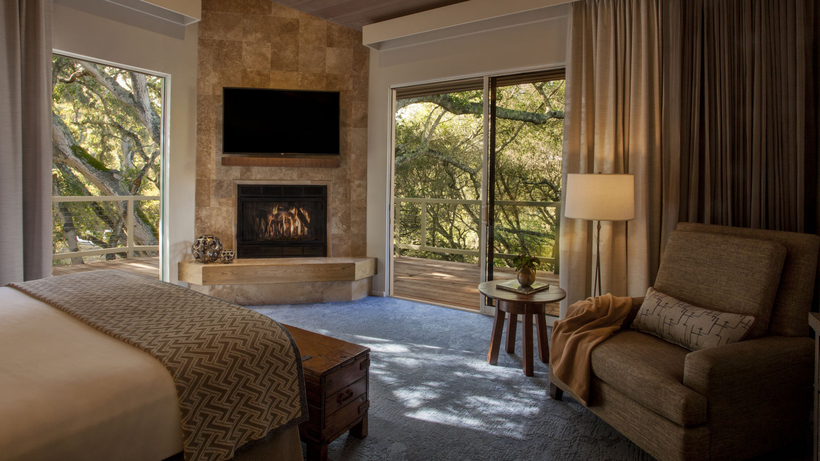 Carmel Valley Ranch_Accommodations_Suite_Garland_Bedroom_Master_6339_BM