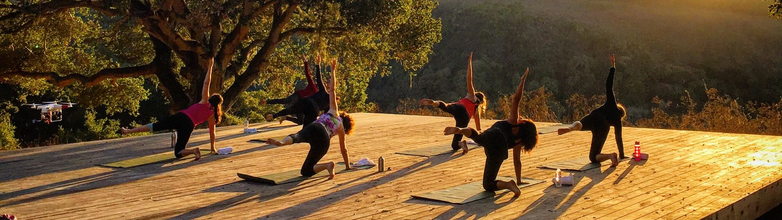 Carmel Valley Ranch_Activities_Outdoor Yoga Sunset