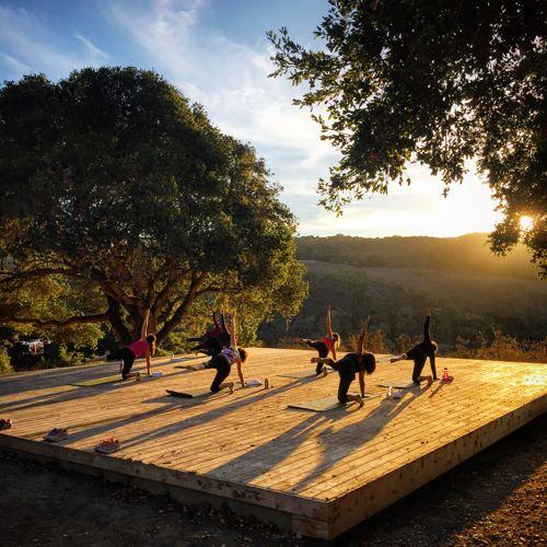 Carmel Valley Ranch_Activities_Outdoor Yoga Sunset