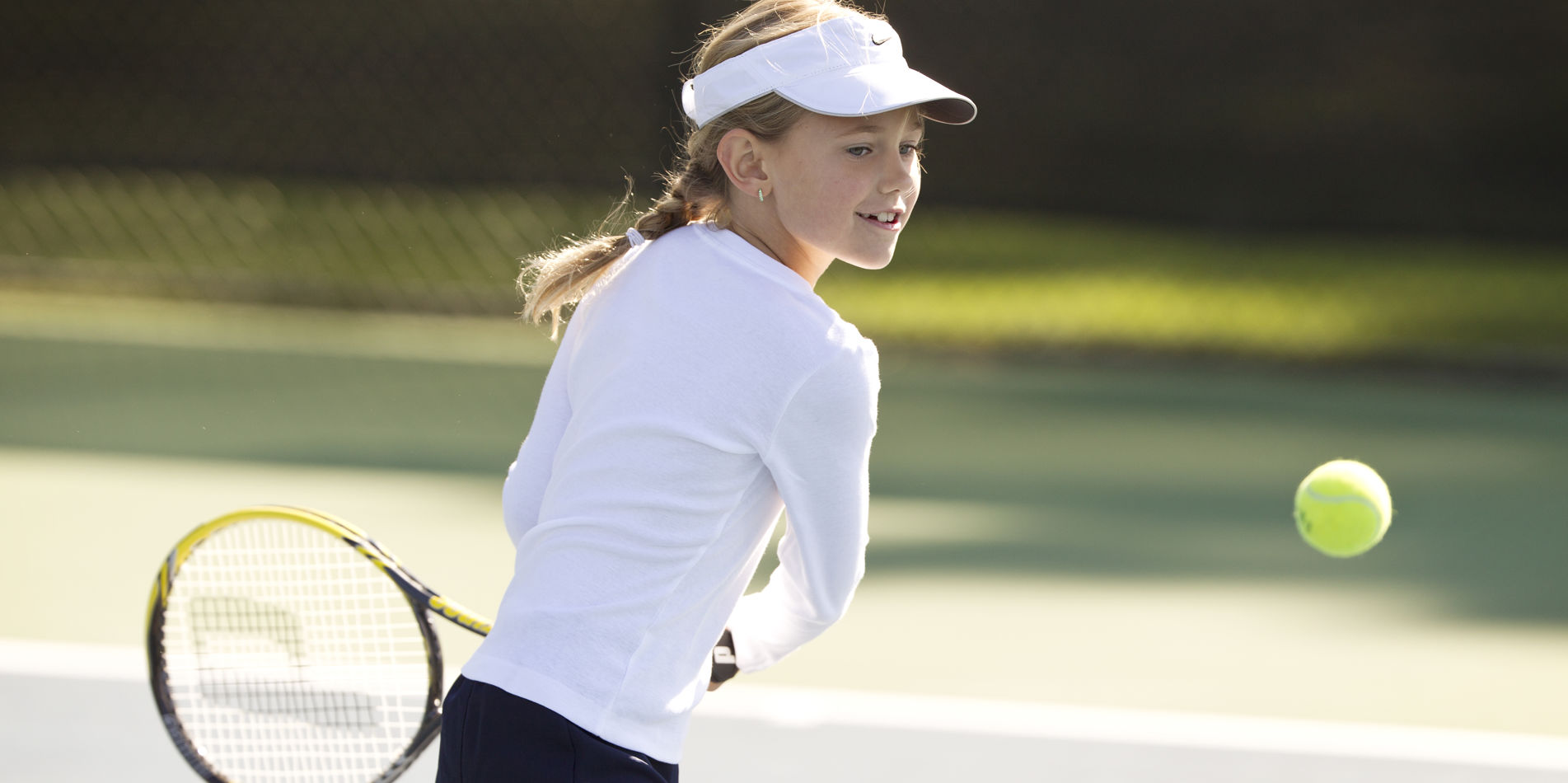 Carmel Valley Ranch_Activities_Tennis_girl playing tennis