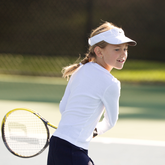 Carmel Valley Ranch_Activities_Tennis_girl playing tennis
