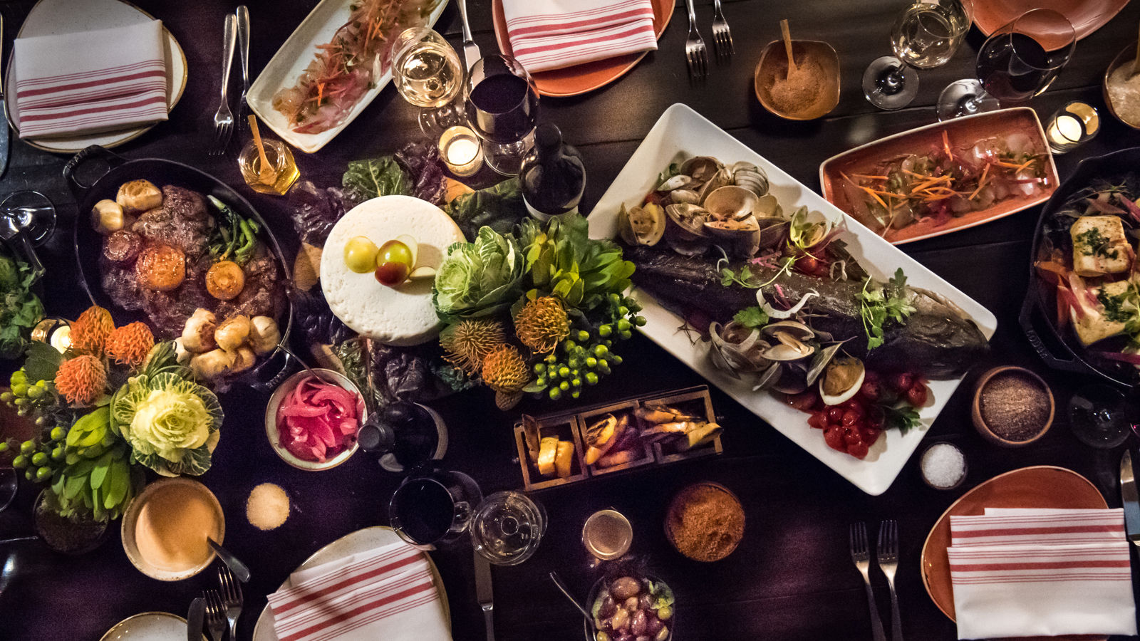 Carmel Valley Ranch_Dining_Food_Artisan Food Image Overhead