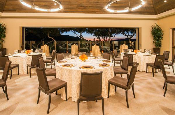 Carmel Valley Ranch_Events_Vintner Room social rounds