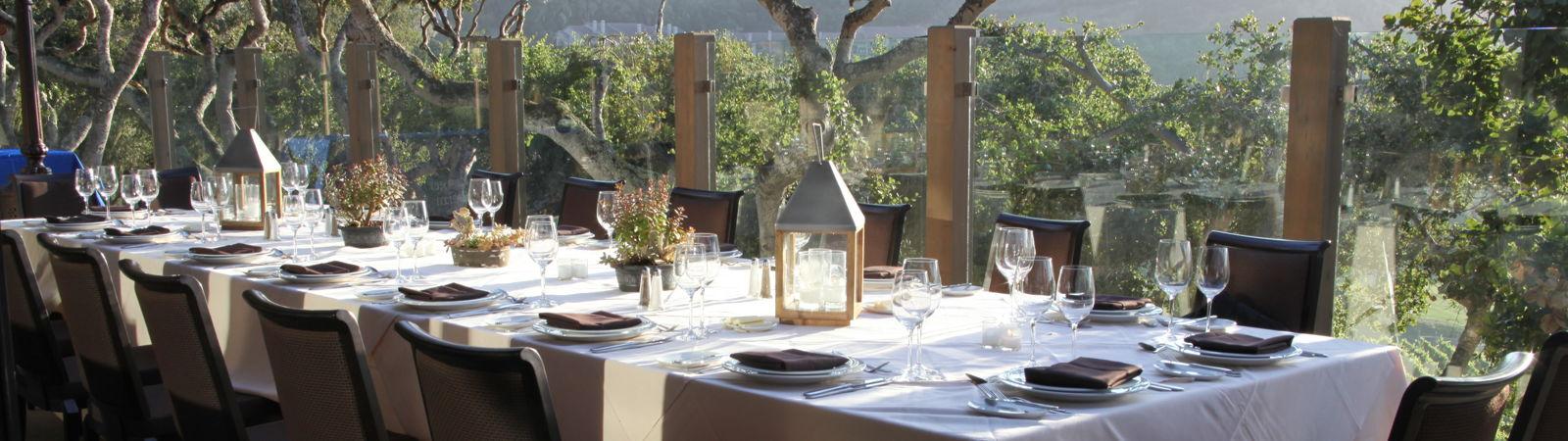 Carmel Valley Ranch_Events_Vintner Terrace kings table