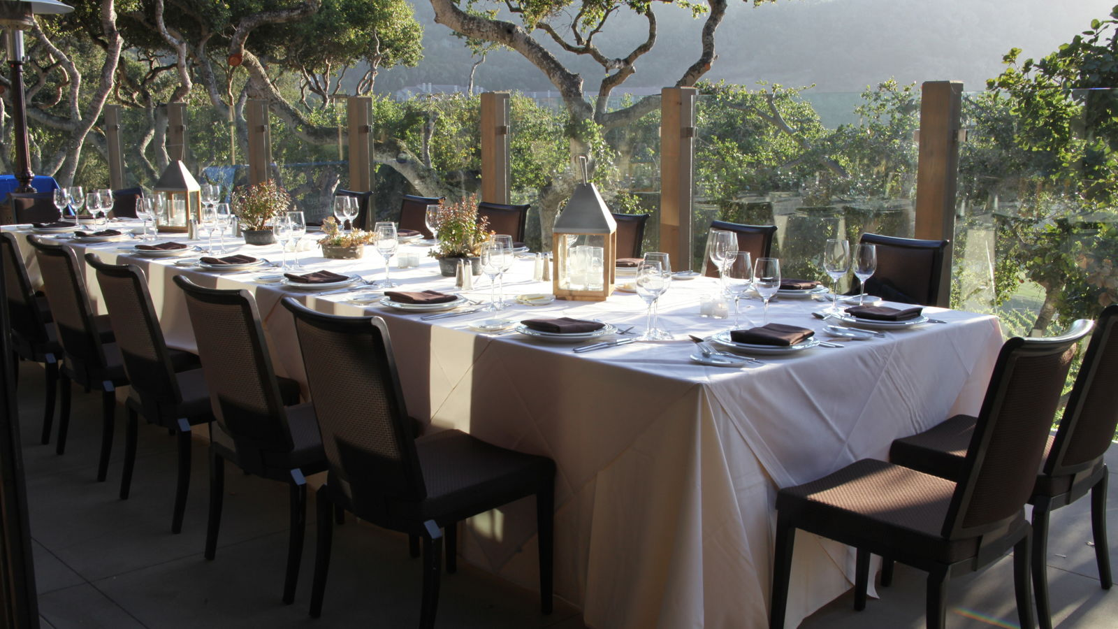 Carmel Valley Ranch_Events_Vintner Terrace kings table