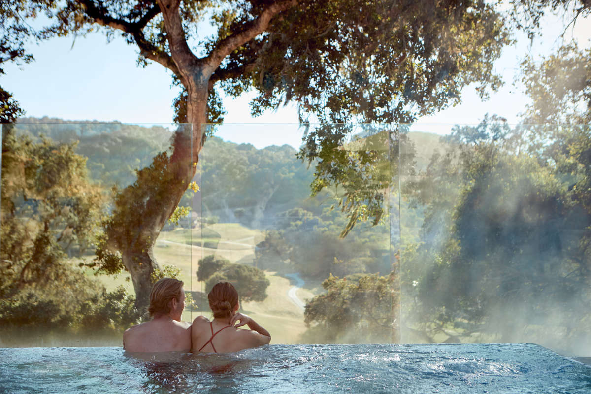 Carmel Valley Ranch_Lifestyle_Couple_Infinity Hot Tub_3101_GJ