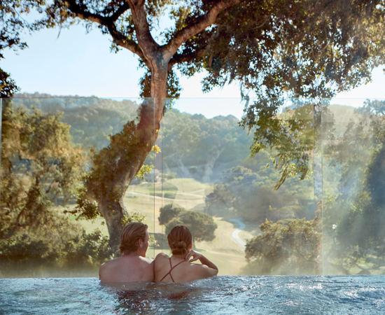 Carmel Valley Ranch_Lifestyle_Couple_Infinity Hot Tub_3101_GJ