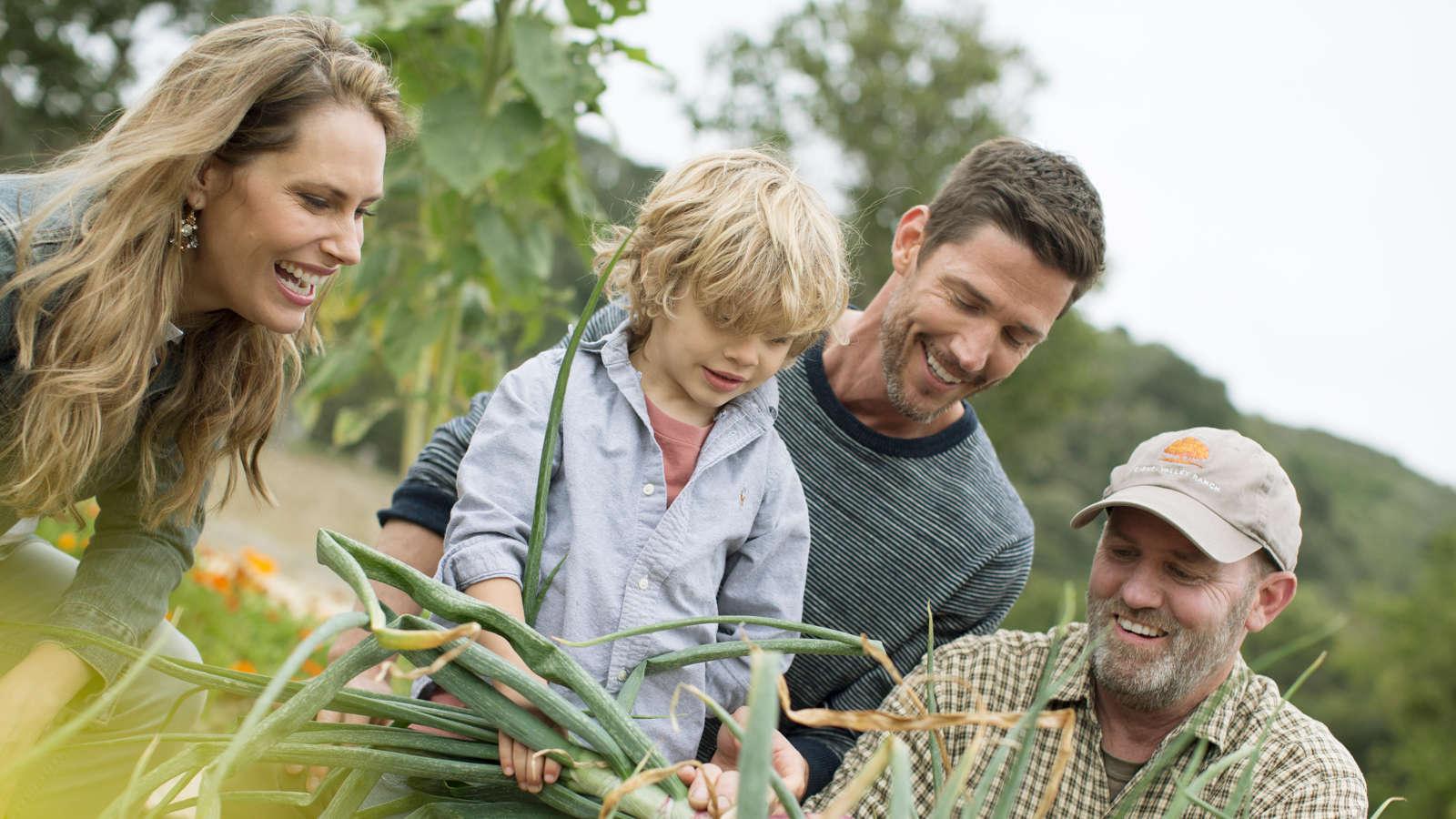 Carmel Valley Ranch_Lifestyle_Organic Garden_family garden tour