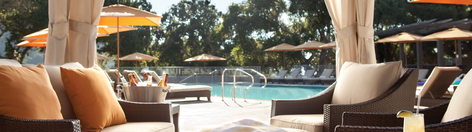 Carmel Valley Ranch_Property_Pool_Cabanas at lodge