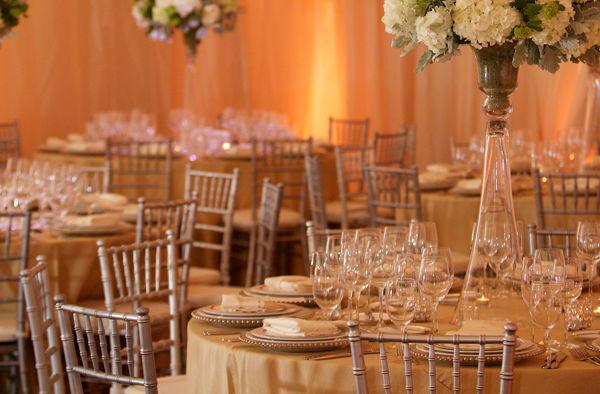 Carmel Valley Ranch_Weddings_Redwood Ballroom table setting
