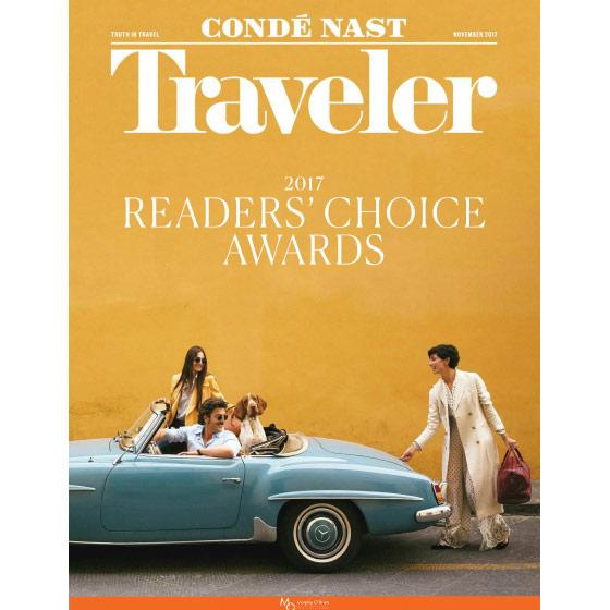CONDE NAST TRAVELER - NOVEMBER 2017