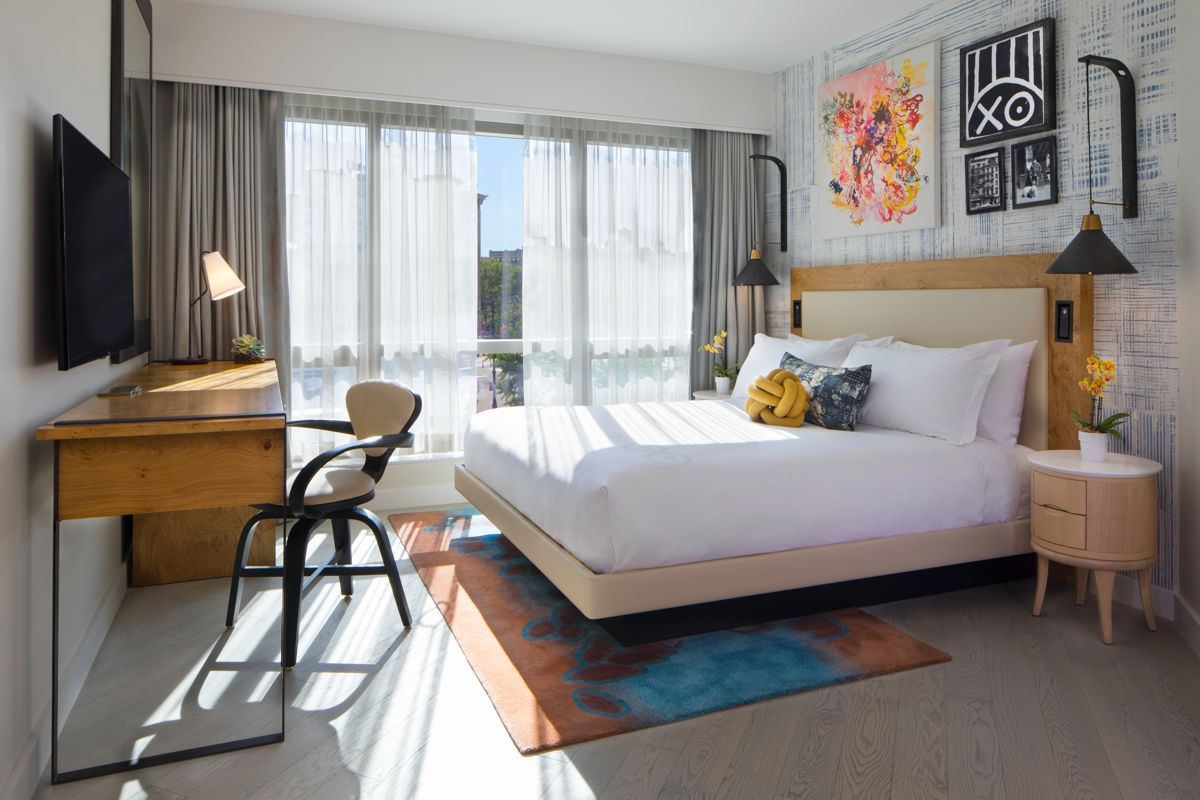 Hotel 50 Bowery NYC King Guestroom