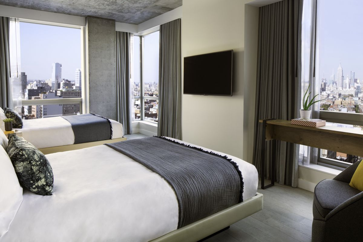 50 Bowery Doubleview Guestroom