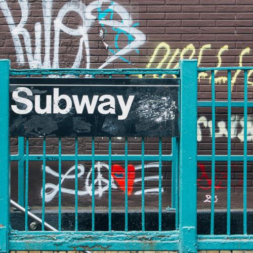 NYC Subway Sign