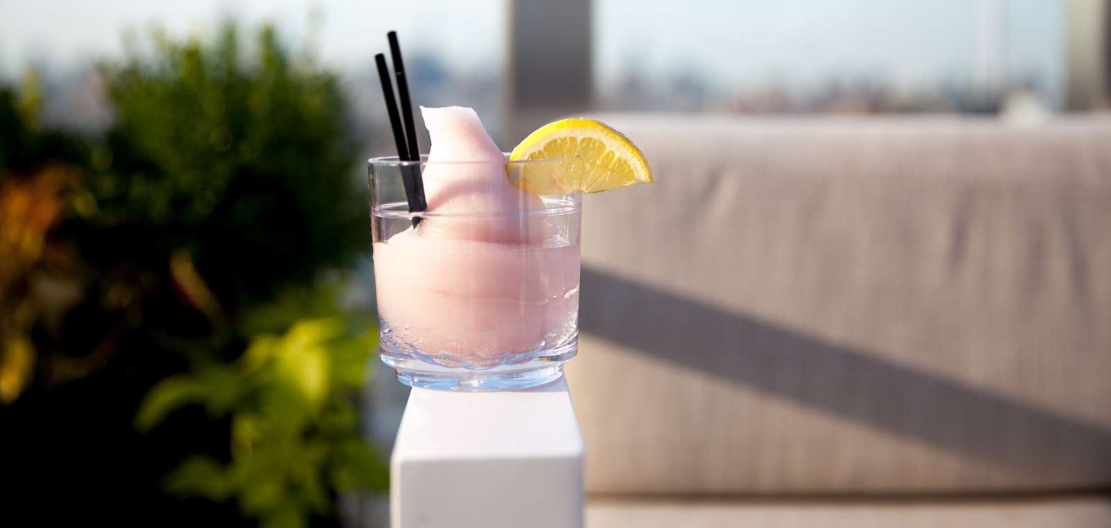 Frose Cocktail at The Crown Rooftop Bar in NYC