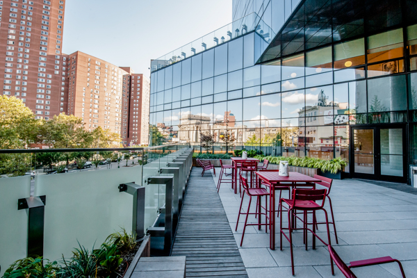 Hotel 50 Bowery NYC Outdoor Space