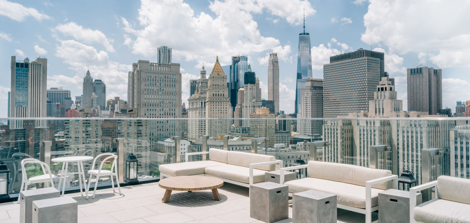 50 Bowery Rooftop Terrace