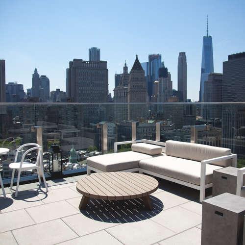 New York City Rooftop Patio