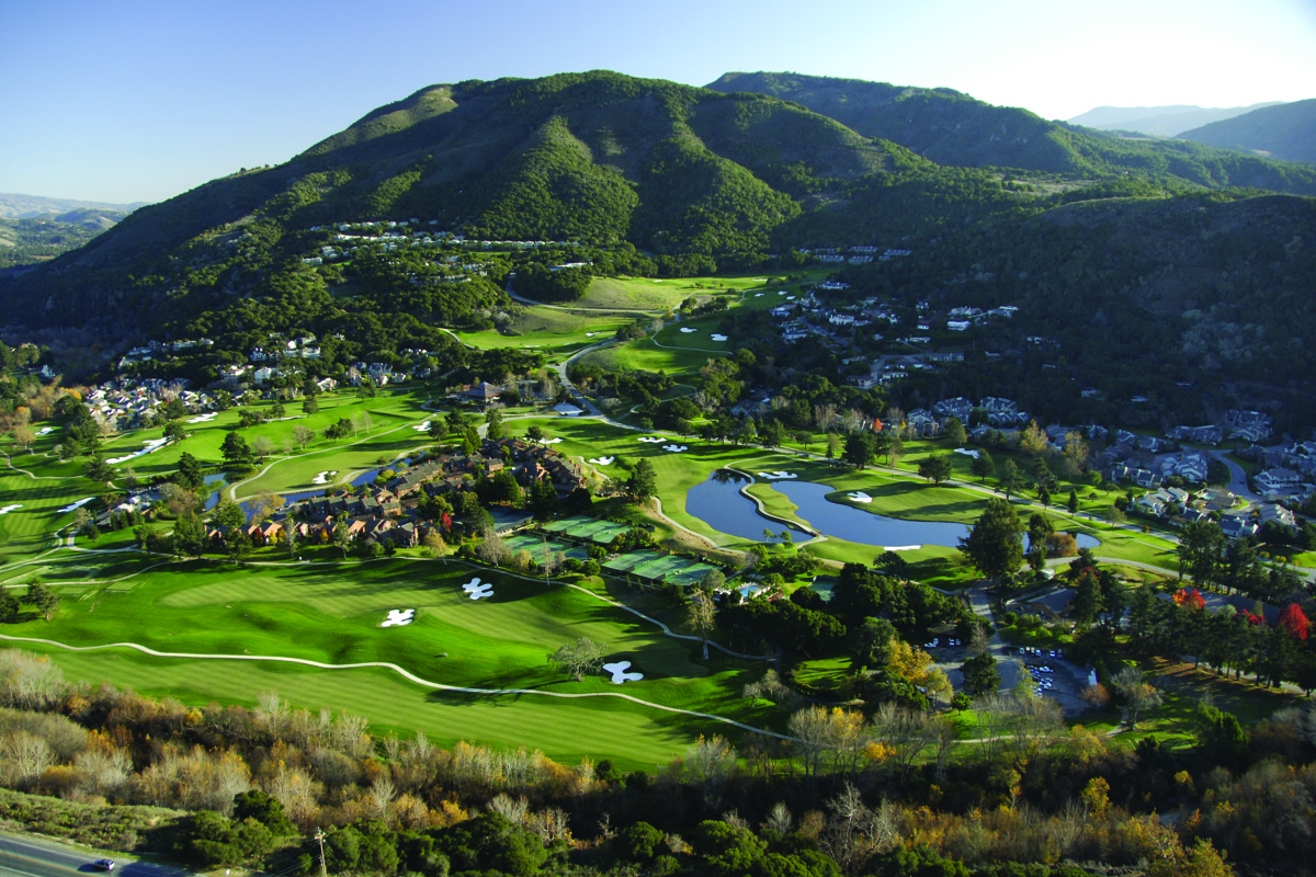 Aerial of Carmel Valley Golf Course