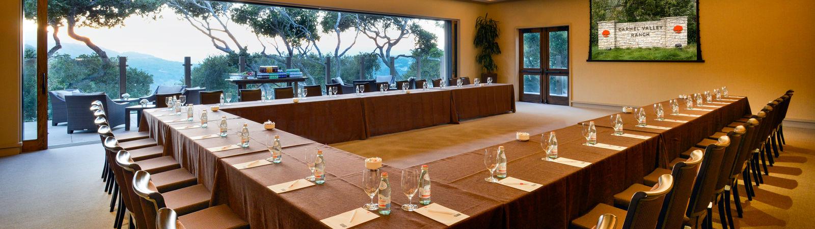 Carmel Valley Ranch Meeting Room