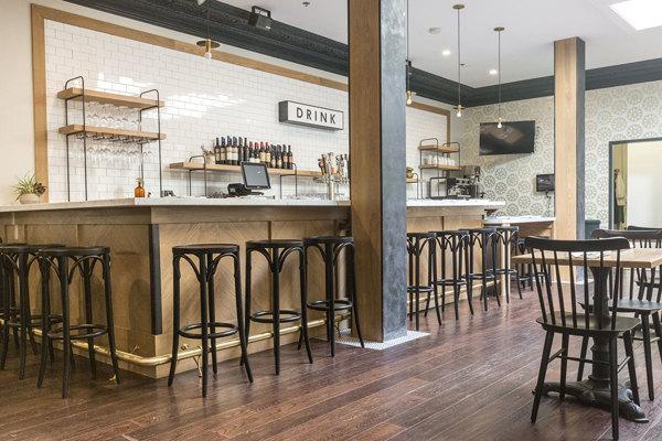 Phlox Commons Bar Area