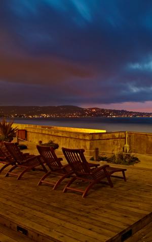 Sunset at Monterey Tides