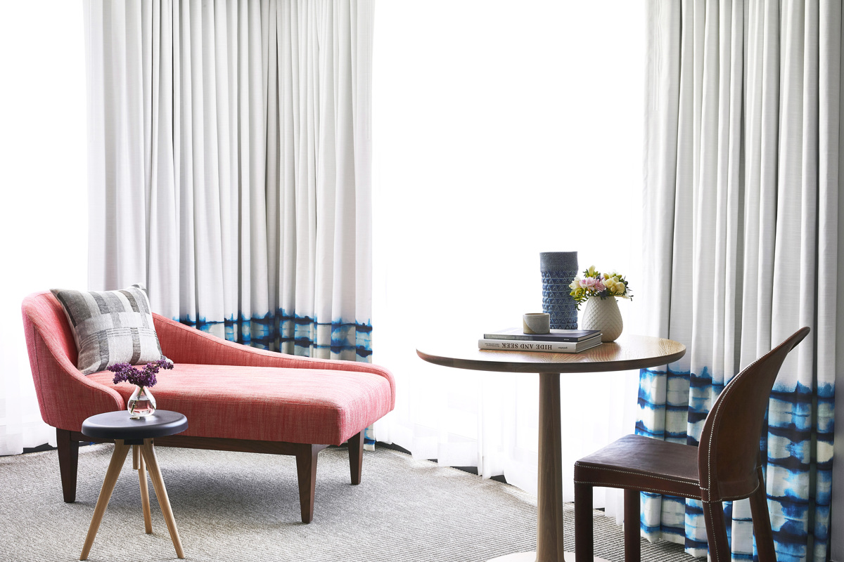 Hotel Room Sitting Area