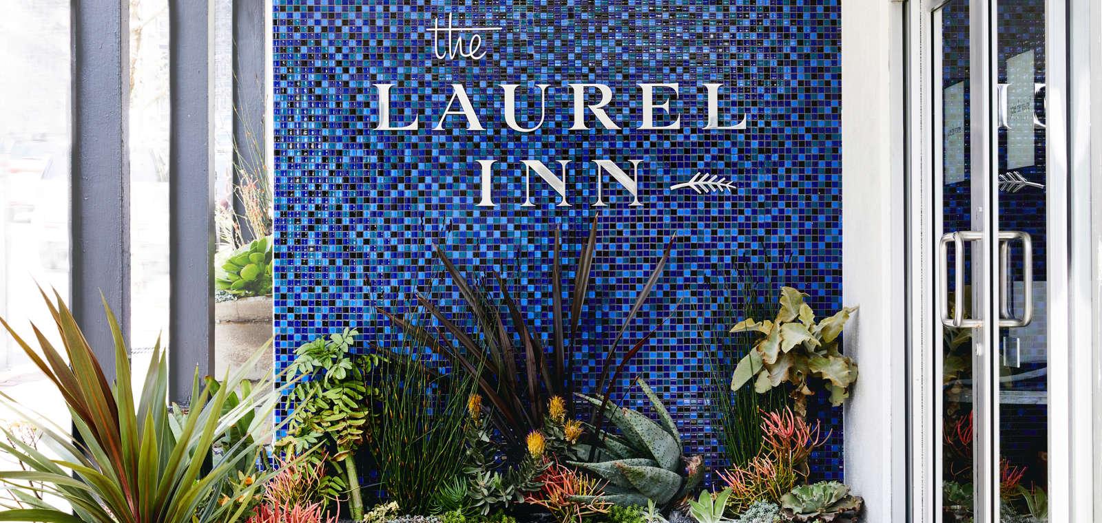 Laurel Inn Exterior Entrance