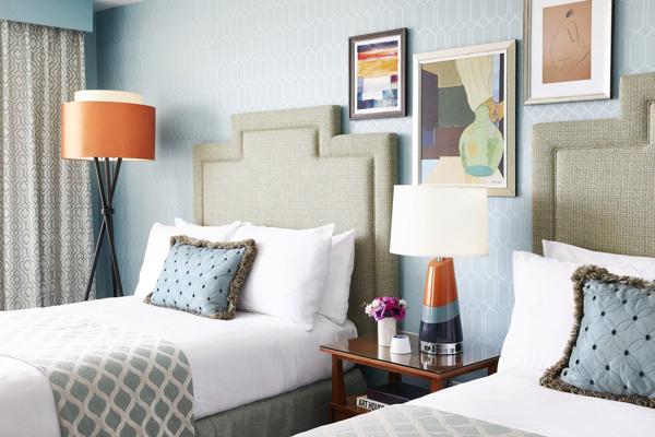 Laurel Inn_Guest Room_Two Beds