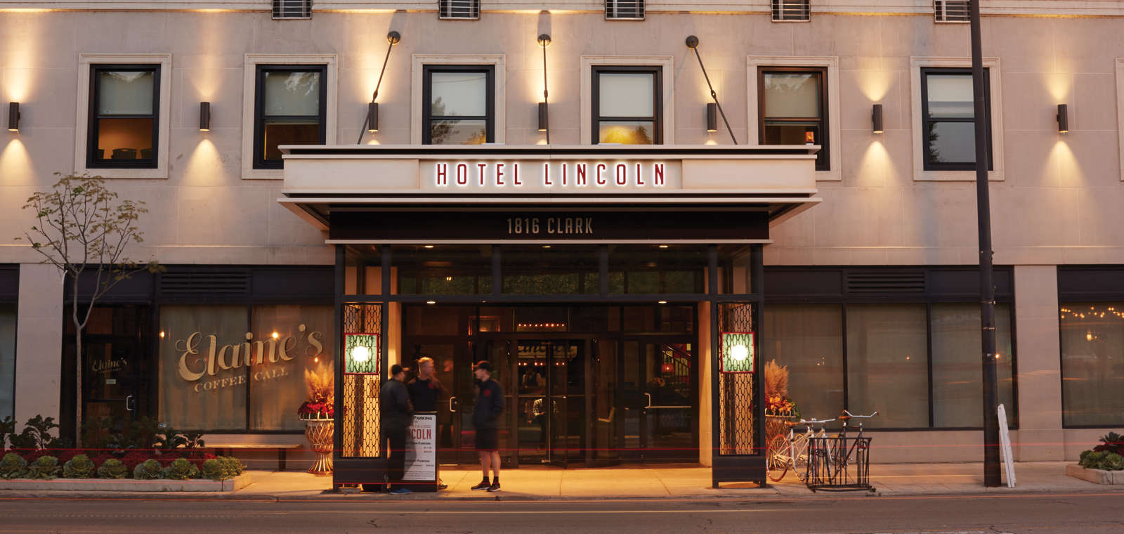 Hotel Lincoln: Exterior
