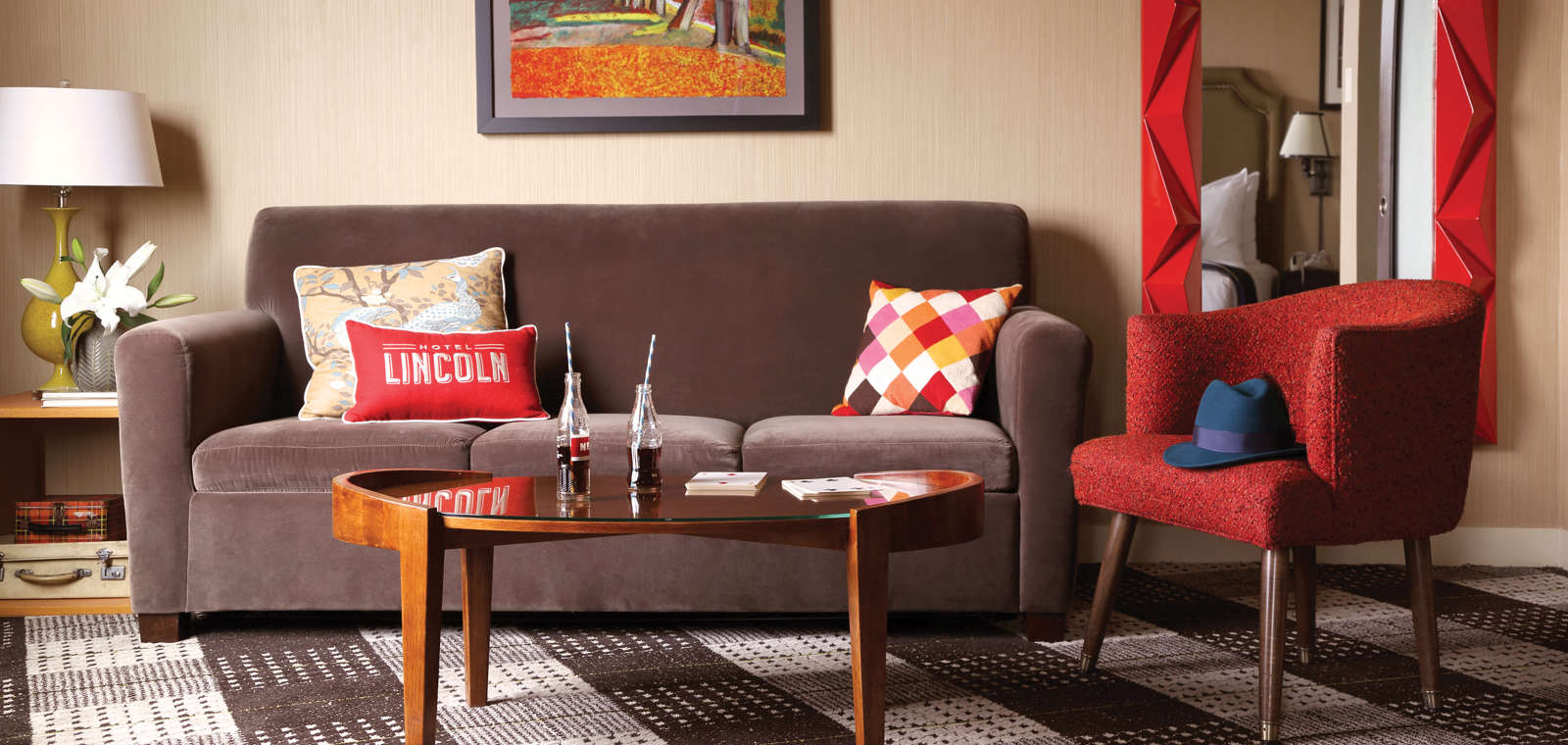 Hotel Lincoln: Junior Suite Sitting Area