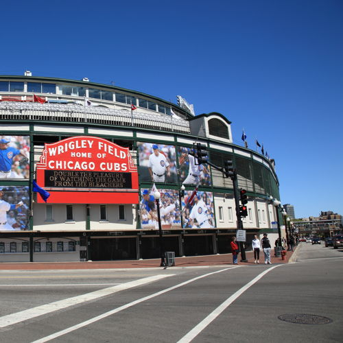 Wrigley Chicago Cubs Signs