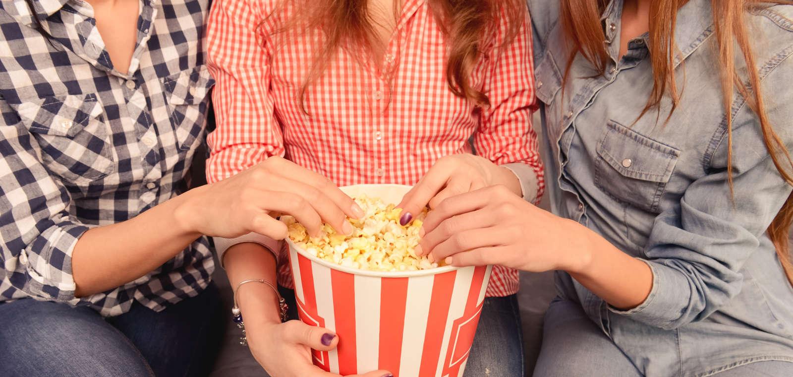 Movie Night Stock