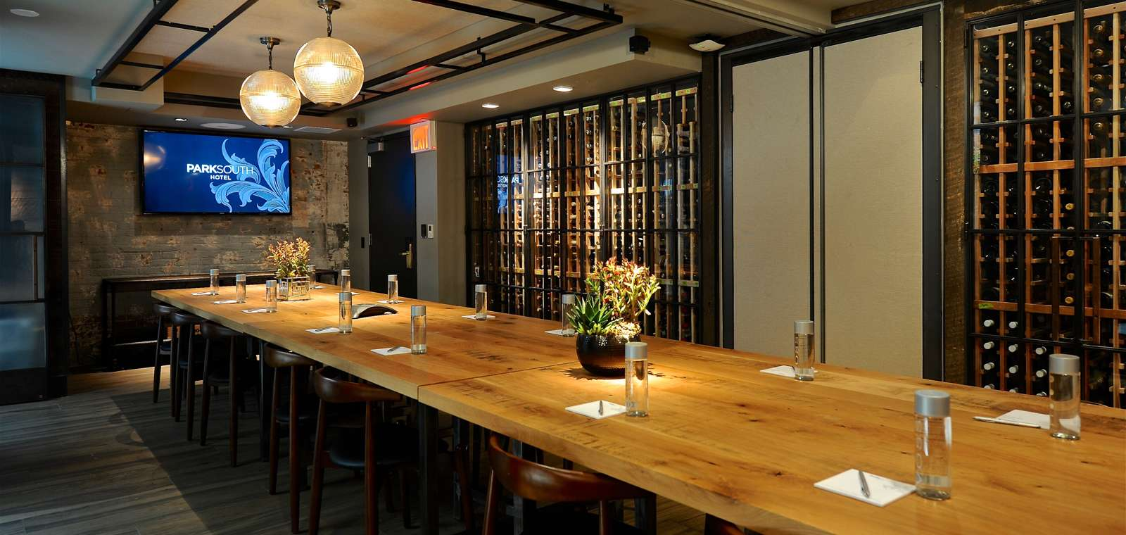Private Dining And Meeting Space With TV