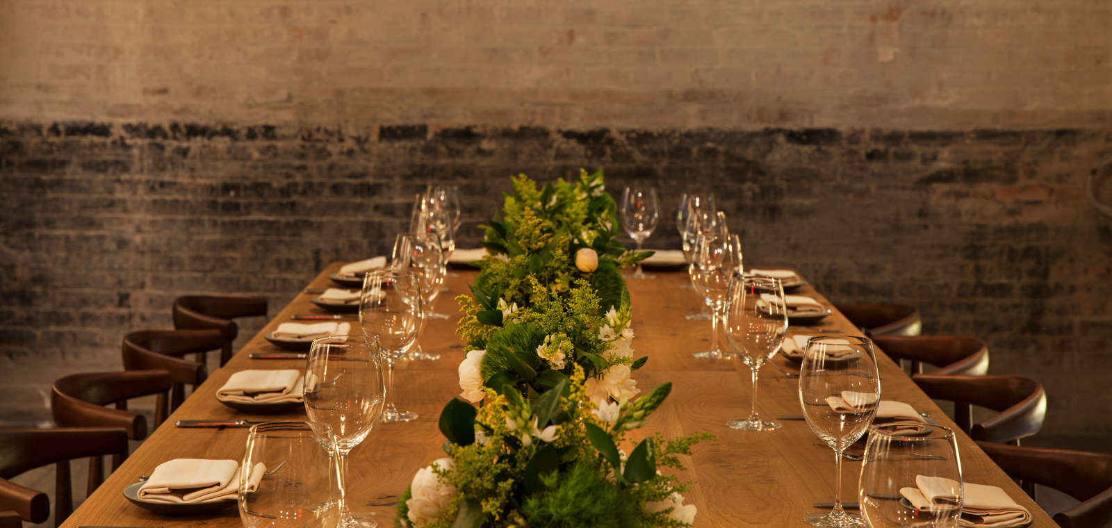 Park South Hotel_Private Dining_Table Set
