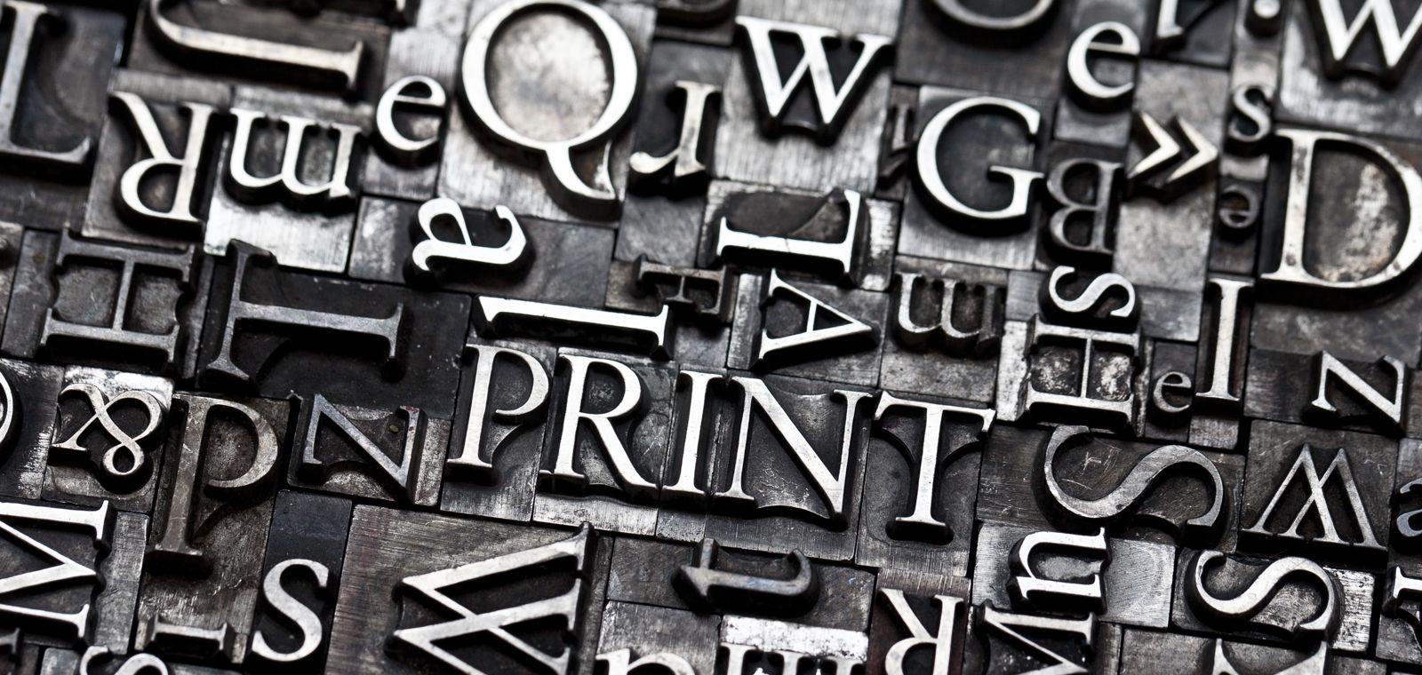 Metal Press Letters