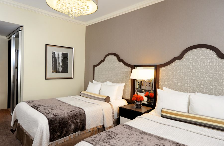 Double Beds In Executive Guestroom