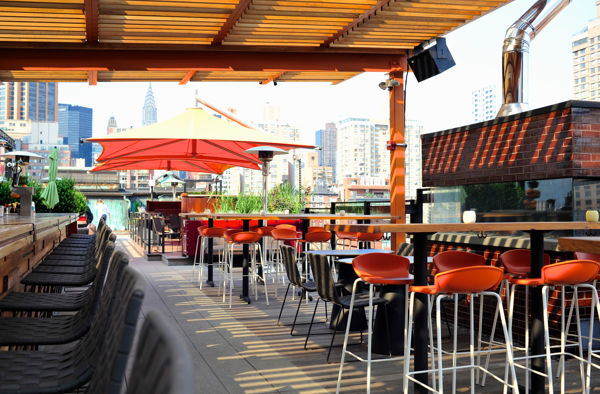 New York City Rooftop Bar
